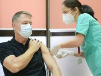 Președintele Klaus Iohannis și-a făcut doza a treia de vaccin anti-COVID