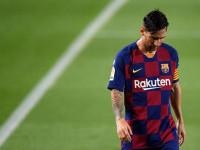Messi a primit primul cartonaş roşu de când joacă la Barcelona