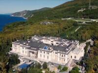 """Cum arată """"Palatul lui Putin"""". Proprietatea de pe Malul Mării Negre de 39 de ori mai mare decât Monaco"""