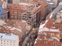 Explozie puternică în Madrid. Trei oameni au murit după ce o clădire s-a prăbușit parțial. VIDEO