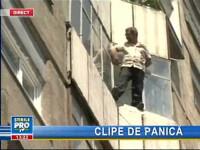 Un bărbat din Cluj ameninţă că se aruncă de la etajul 6!