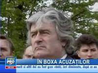 Radovan Karadžić se va înfăţişa azi Tribunalului de la Haga