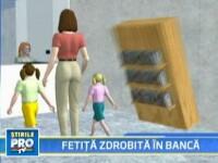 Ancheta, in cazul fetitei moarte intr-o banca din Oradea, bate pasul pe loc