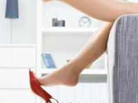 Cum previi umflarea picioarelor la menstruatie!