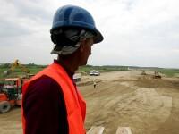 S-au turnat primii kilometri de asfalt pe autostrada Bucuresti-Ploiesti!