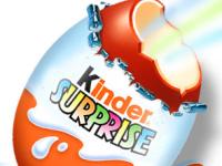 Ferrero, criticata pentru ca va schimba culoarea surprizelor din ouale Kinder