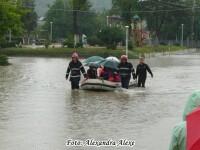 Neputinta si disperare in Cernavoda. Centrul orasului, sub ape