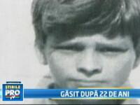 Poveste impresionanta! Si-a regasit fiul, la 22 de ani de la disparitie!