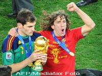 Carles Puyol se retrage din nationala Spaniei