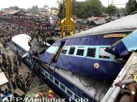 Tragedie feroviara in India! Peste 50 de morti si 120 de raniti