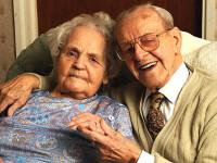 Sunt casatoriti de 77 de ani! El are 107, ea 101