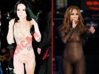 Inna o imita pe Jennifer Lopez! Care arata mai bine in costumul mulat?
