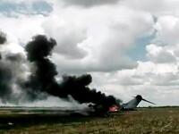 Un avion al ONU s-a prabusit in Congo. 16 oameni au murit