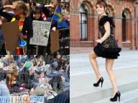 GALERIE FOTO / Nebunie in Trafalgar Square pentru Harry Potter: mii de fani au invadat Londra