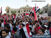 Fortele regimului au reprimat sangeros protestele din Homs, Siria