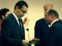 Temele discutiei de o ora dintre Basescu si Victor Ponta. N-au stabilit cine merge la Consiliu