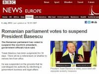 Le Figaro: Lovitura de stat impotriva presedintelui roman