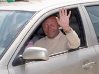 Traian Basescu a venit la Palatul Cotroceni
