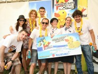 Competitie neobisnuita pe raul Dambovita. 5.000 de ratuste s-au balacit pentru un premiu de 500 euro