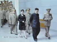 Sora sau amanta? O natiune intreaga se intreaba cine este femeia de langa Kim Jong-un
