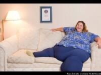 Cea mai grasa femeie din lume a slabit 45 de kilograme facand dragoste de 7 ori pe zi cu sotul ei