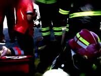 22 de raniti, dupa ce autocarul unei trupe de dansatori din Serbia s-a rasturnat in Mehedinti