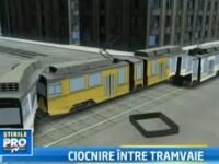 Cum a fost posibila ciocnirea celor doua tramvaie din Capitala. 18 persoane au ajuns la spital