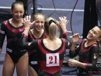 Echipa feminina de gimnastica a Romaniei s-a calificat in finala olimpica