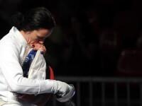 Anca Maroiu si Simona Gherman, eliminate din sferturile de finala la spada la JO 2012