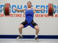 Razvan Martin a castigat medalia de bronz la haltere, a cincea pentru Romania la JO