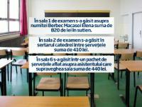 BACALAUREAT 2013. Reteaua spagii de la Liceul Bolintineanu. Cum s-au impartit banii dati de elevi