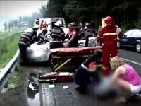 Doi indragostiti au murit impreuna intr-un accident pe DN 1. Politia: Viteza a provocat nenorocirea