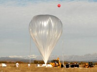 Balonul cu heliu care va duce turistii in stratosfera. Cat va costa sa ajungi la 36 km. altitudine