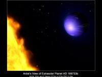 Astronomii au observat in premiera cum arata o exoplaneta. Este albastra, la fel ca Terra