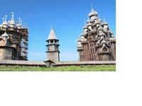Cea mai mare cladire din lume, realizata in totalitate din lemn. Imagini cu biserica Kizhi Pogost