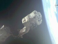 NASA a anulat o misiune, dupa ce casca unui astronaut s-a umplut cu apa: \