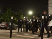 Proteste violente la Paris dupa ce politistii au vrut sa identifice o soferita acoperita cu un voal