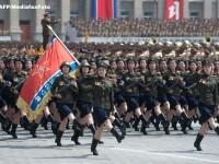 Spectacol fascinant cu ocazia celebrarii a 60 de ani de la incheierea Razboiului din Coreea. FOTO