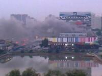 Emisia Televiziunii publice ruse, intrerupta cateva ore din cauza unui incendiu