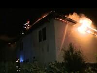 Han distrus de incendiu. Pagubele depasesc 10.000 de euro, iar imobilul nu era asigurat