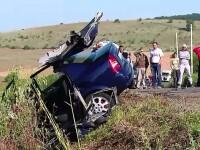 Si-a salvat copilul cu pretul propriei vieti, intr-un accident cumplit. Soferul a atipit la volan si a intrat intr-un TIR