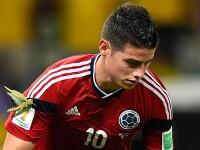 CAMPIONATUL MONDIAL DE FOTBAL 2014. Lacusta care a stat pe mana lui Rodriguez la marcarea golului nu a purtat noroc Columbiei