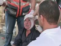 Jurnalist CNN, ranit in timpul unei relatari despre violentele din Ierusalim. VIDEO