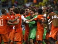 CAMPIONATUL MONDIAL DE FOTBAL 2014. Olanda s-a calificat in semifinalele Cupei Mondiale, dupa 4 - 3 cu Costa Rica