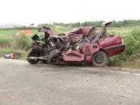 Manevra prin care un sofer din Timisoara a murit pe loc. A intrat cu masina intr-un autobuz cu 35 de pasageri