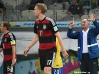 BRAZILIA - GERMANIA 1-7. Cum a fost fotografiat, in timpul meciului, Luis Felipe Scolari