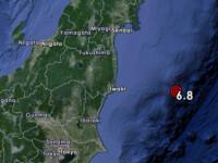 Cutremur cu magnitudinea de 6,8 in apropiere de Fukushima. Autoritatile au ridicat avertizarea de risc de tsunami