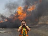 Civili folositi ca scuturi umane si atacuri de pedeapsa asupra palestinienilor. Imagini violente ale conflictului Israel-Gaza