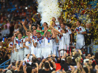 CAMPIONATUL MONDIAL DE FOTBAL 2014. Germania a invins Argentina cu 1 la 0. Mario Goetze i-a adus tarii sale al patrulea titlu