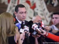 Ponta spune ca si-a lansat candidatura mai devreme, in mijlocul inundatiilor.